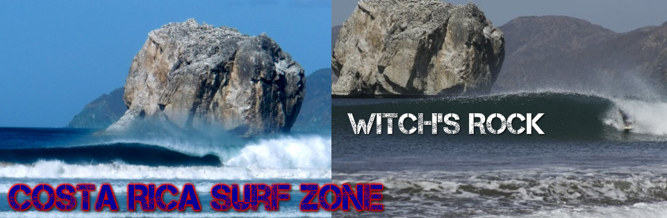 witches rock costa rica map Witch S Rock Roca Bruja Surfzone Costa Rica witches rock costa rica map